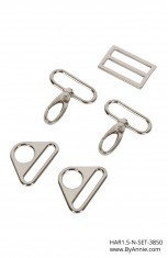 1-1/2 inch - Nickel - Set 3850