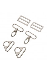 1-1/2 inch - Nickel - Set 3950