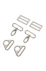 1-1/2 inch - Nickel - Set 3950