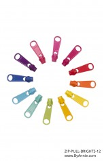 Zipper Pull Set - Brights (OUT OF STOCK)