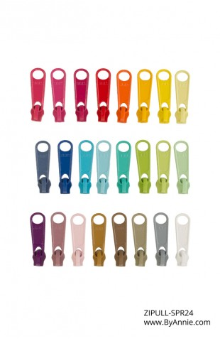 Zipper Pull Set - Spring (OUT OF STOCK)