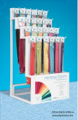 Zipper Display Rack Options