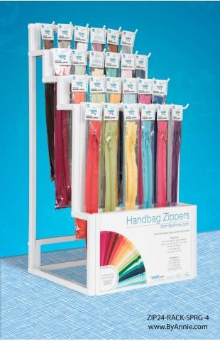 Zipper Display Rack Options