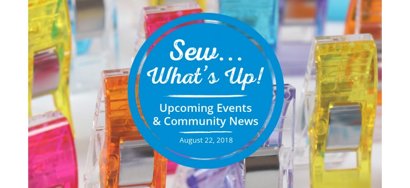 Upcoming Events - September 2018