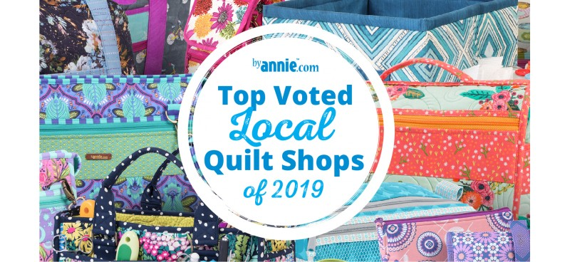 2019 Favorite Local Quilt Shop Winners