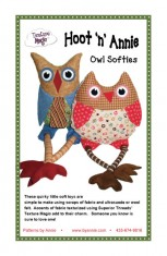 Hoot 'n' Annie Owl Softies