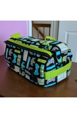 Double Zip Gear Bag - Dawn B.