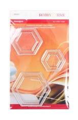 Hexagons 3 Sizes