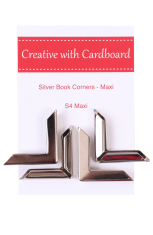 Silver Book Corners Large