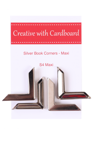Silver Book Corners Large