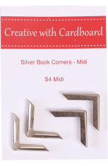 Silver Book Corners Medium
