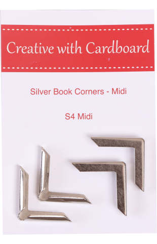Silver Book Corners Medium