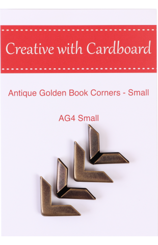 Antique Golden book Corners Small -- OUT OF STOCK - Expected availability 10/15/2019