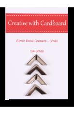 Silver Book Corners Small
