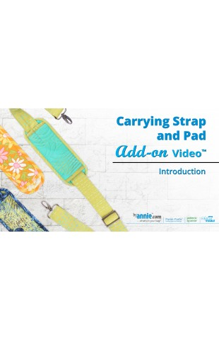 Carrying Strap and Pad Add-on Video