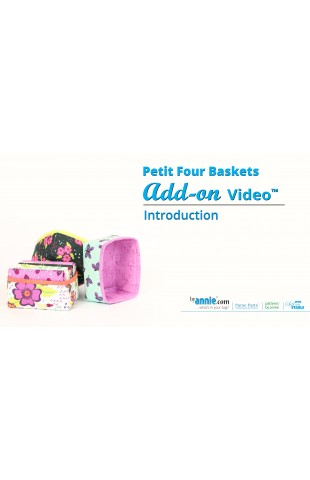 Petit Four Baskets - Add-on Video
