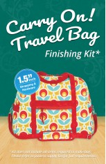 Carry On! Travel Bag Finishing Kit - 1.5""
