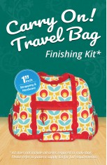 Carry On! Travel Bag Finishing Kit - 1""