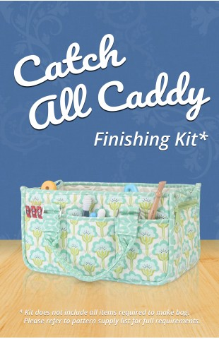 Catch All Caddy Finishing Kit (works for ByAnnie's pattern or Craftsy class)