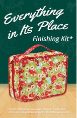 Everything in Its Place Finishing Kit - Craftsy
