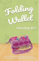 Folding Wallet Finishing Kit