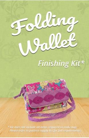Folding Wallet Finishing Kit