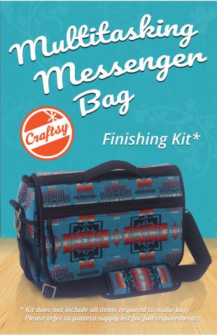 Multitasking Messenger Bag Finishing Kit - Craftsy