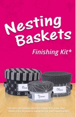 Nesting Baskets Finishing Kit (works for ByAnnie's pattern or Craftsy class)