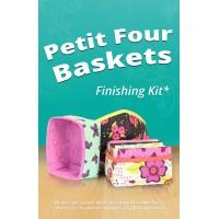 Petit Four Baskets Finishing Kit