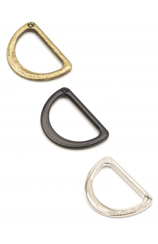 """1"""" D-Ring - Flat, Set of Two"""