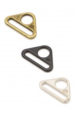 "1"" Triangle Ring - Flat, Set of Two"