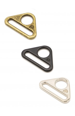 """1"""" Triangle Ring - Flat, Set of Two"""
