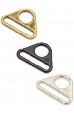 "1-1/2"" Triangle Ring - Flat, Set of Two"