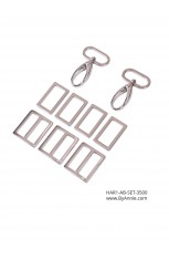 "1"" nickel - Hardware Set 3500"