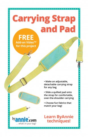 Carrying Strap and Pad PDF