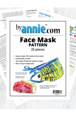 Face Mask - Pack of 25 (PRE-ORDER AVAILABLE 10/15/2020)