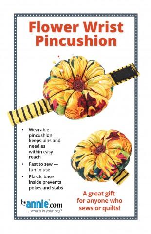 Flower Wrist Pincushion PDF