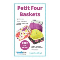 Petit Four Baskets PDF