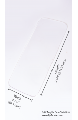 MJ's Messenger Bag Base Stabilizer - SMALL
