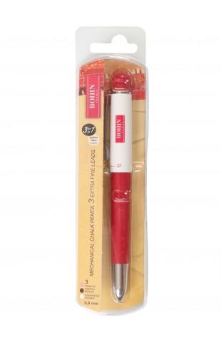 Bohin Extra Fine Mechanical Chalk Pencil, 3-in-1