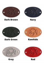 Leather Labels - ByA - 5pc
