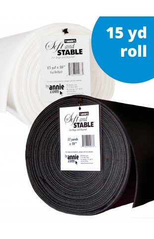 """ByAnnie's Soft and Stable ROLL 15 yard x 58"""""""