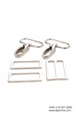 1-1/2 inch - Nickel - Set 3800