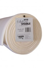 "ByAnnie's Soft and Stable ROLL 15 yard x 58"" white"
