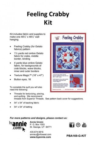 Feeling Crabby Kit