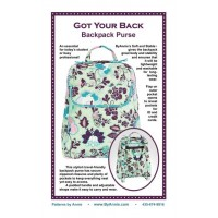 Got Your Back Backpack Purse