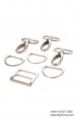 "1"" nickel - Hardware Set 3300"
