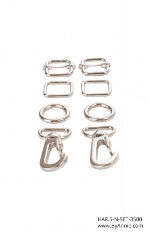 "1/2"" nickel - Hardware Set 3500"
