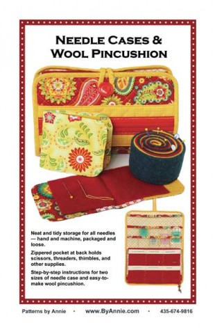 Needle Case & Wool Pincushion