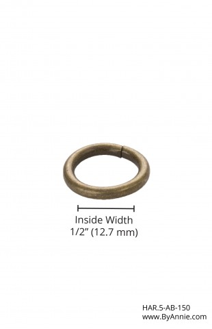 "1/2"" antique brass - O-Ring"